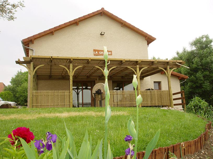 Terrasse bois composite dauphiné environnement la murette pays voironnais